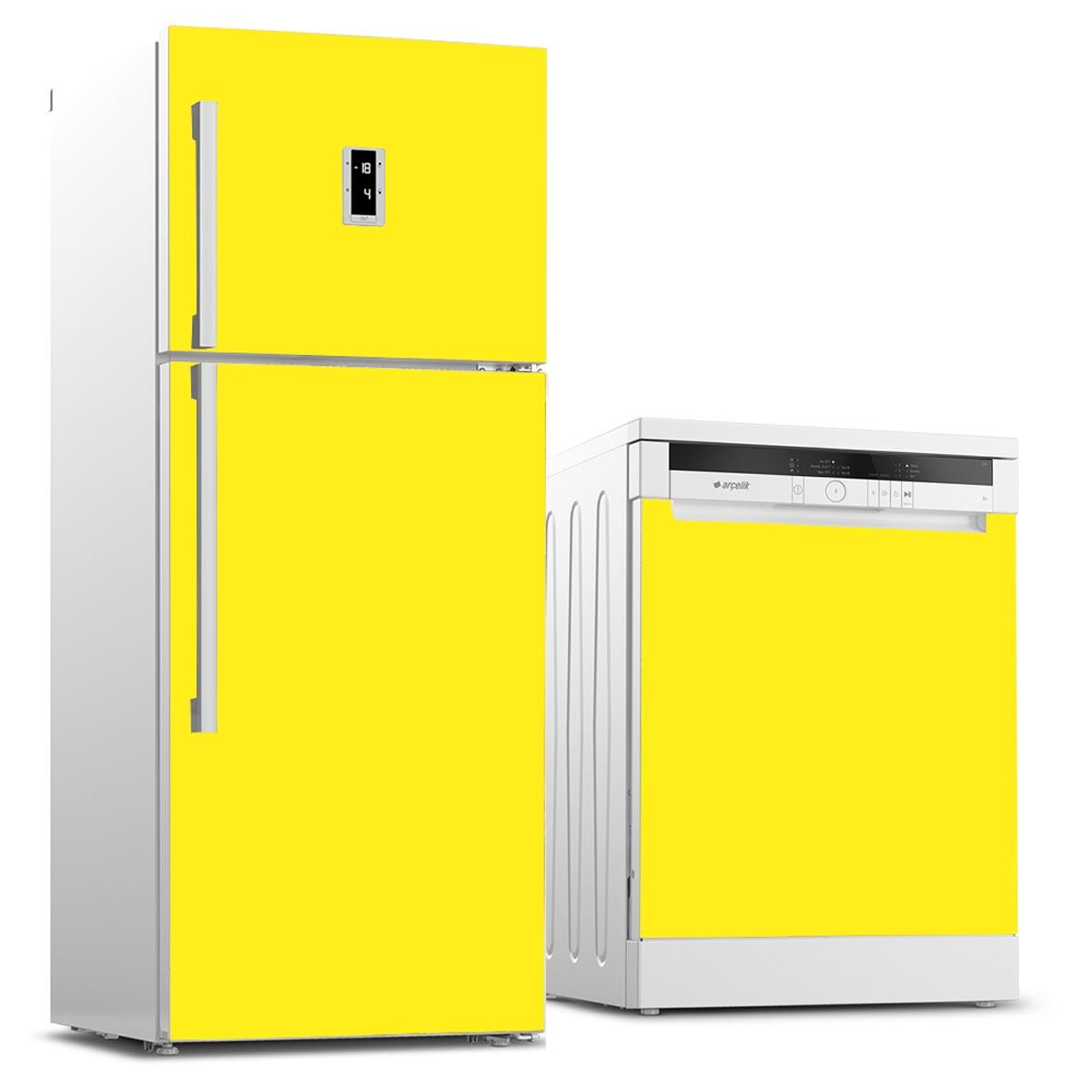 Buzdolabı ve Bulaşık Makinesi Set Kaplama Folyoları