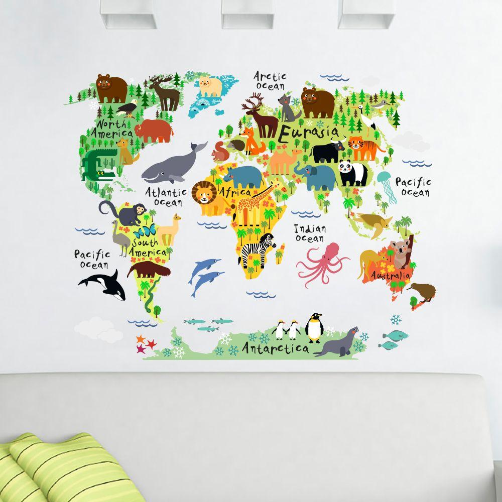 Eğitici ve Dekoratif Haritalar