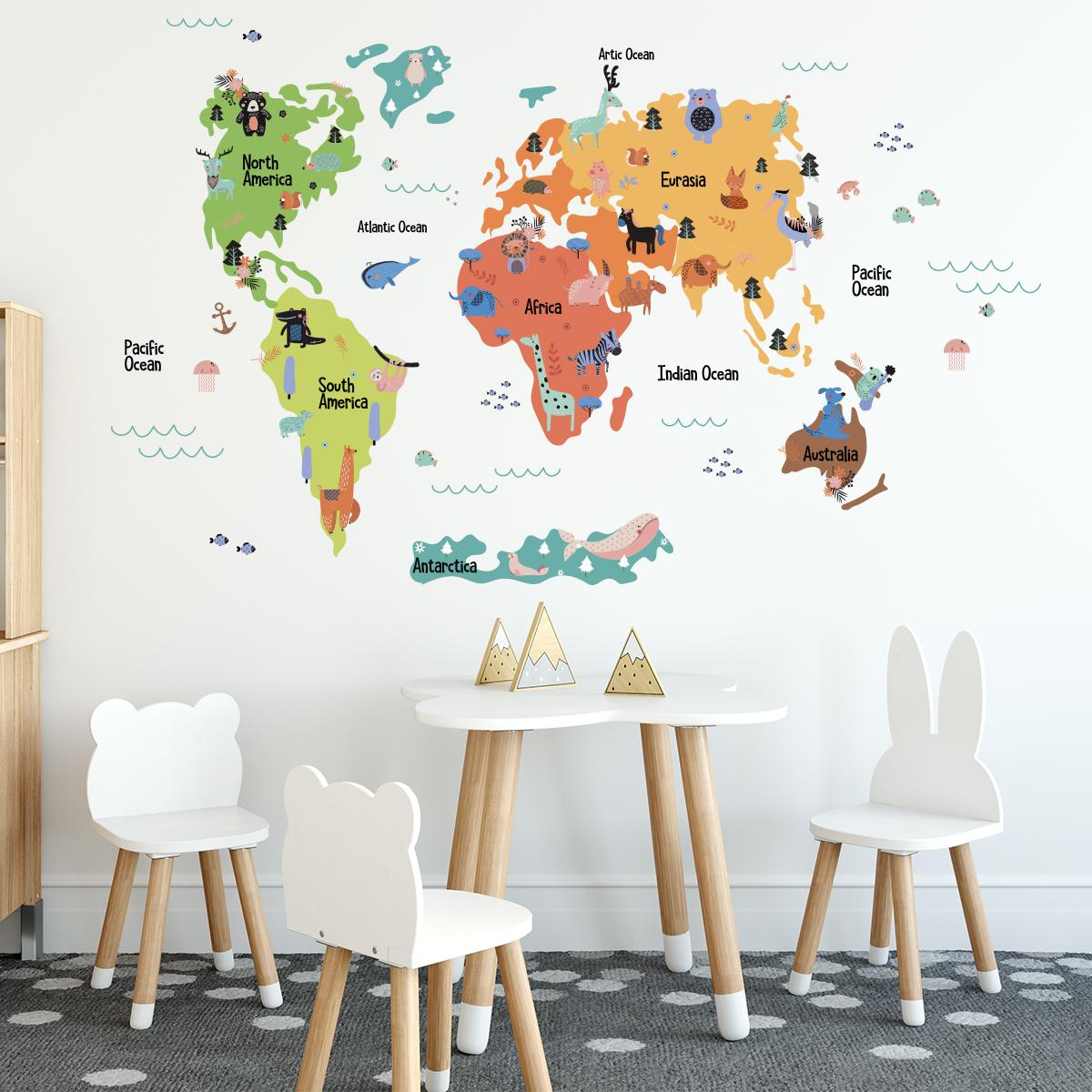 Eğitici ve Öğretici Dünya Haritaları
