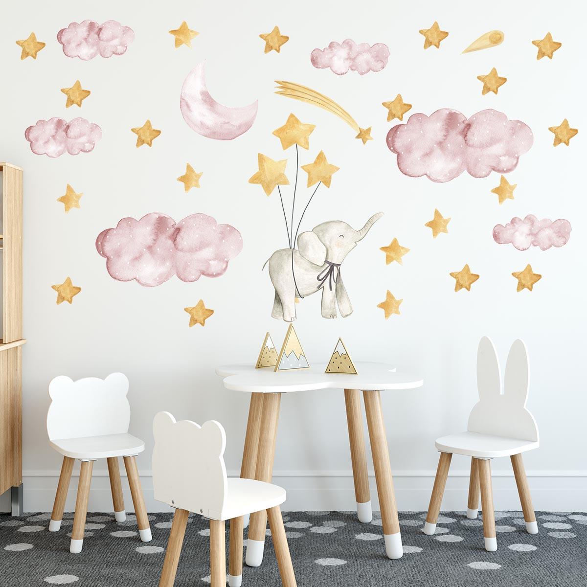 Çocuk ve Bebek Odası Duvar Stickerları