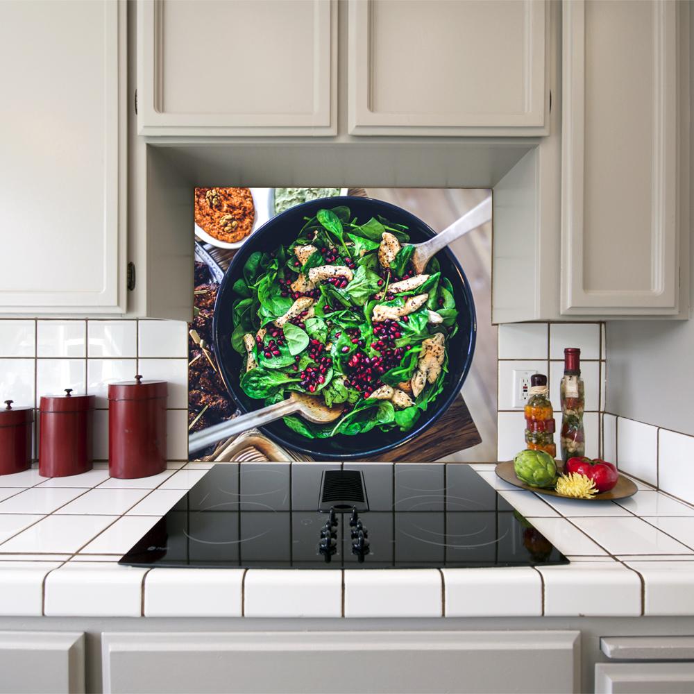 Mutfak Ocağı Arkası Sticker